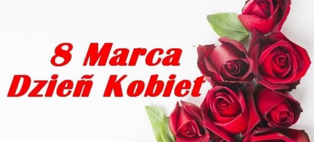 Wszystkim Paniom składamy najlepsze życzenia z okazji Dnia Kobiet!